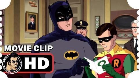 Batman Return of the Caped Crusaders MOVIE CLIP - Riddler's Clue (2016) Adam West Superhero HD