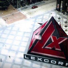 LexCorp entrance