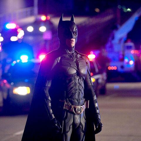 Bruce's third Batsuit.