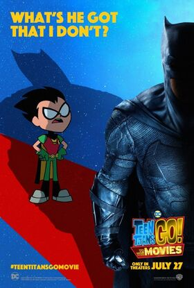Teen Titans GO To The Movies character poster Robin