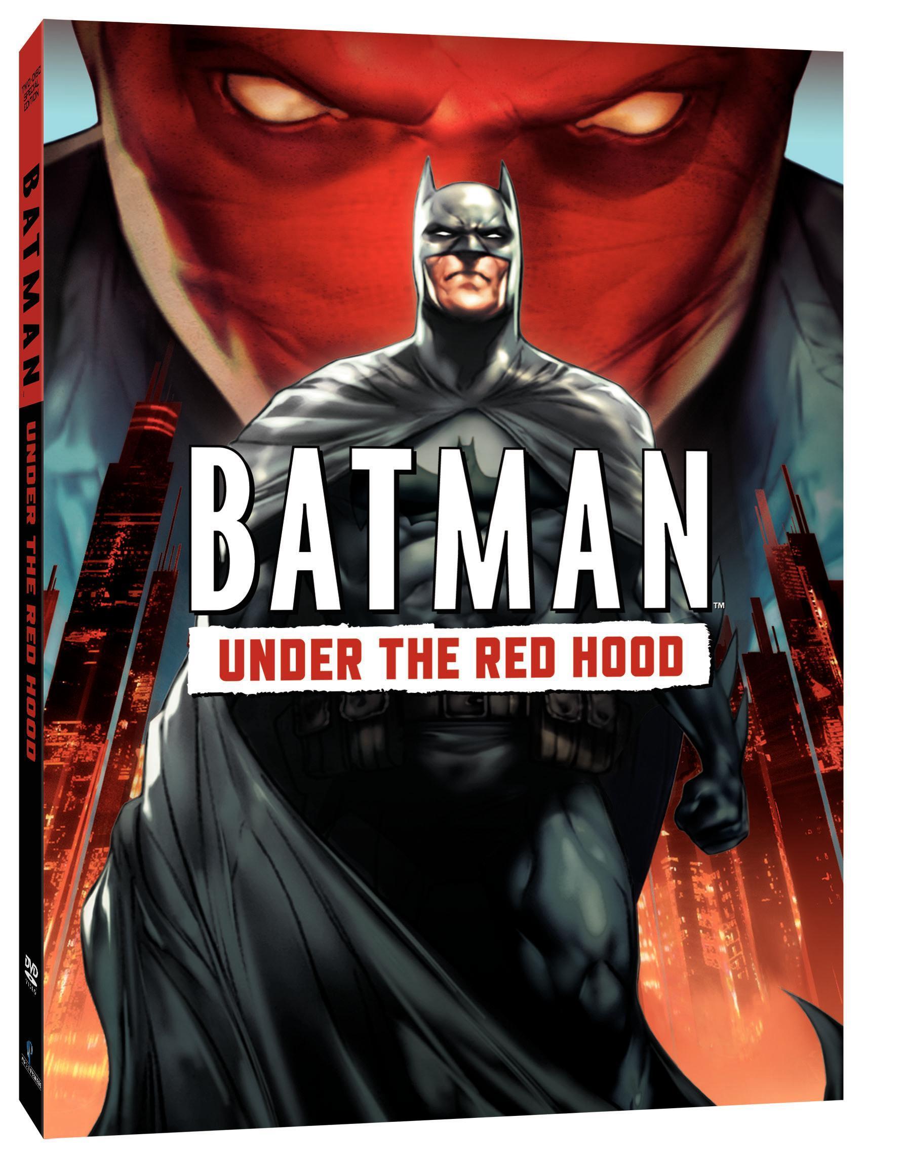 Batman Under The Red Hood Home Video