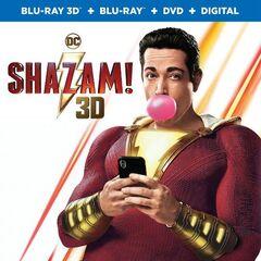 SHAZAM! 3D Blu Ray