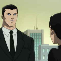 Bruce and Damian.