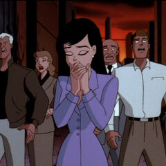 Lois during Darkseid's attack.