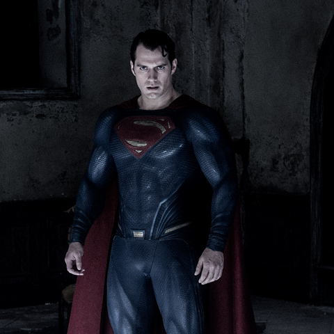 Kal's Supersuit in <i>Batman v Superman: Dawn of Justice</i>.