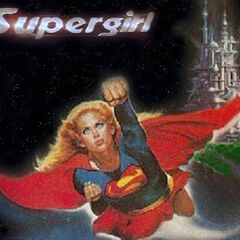 Supergirl small poster.