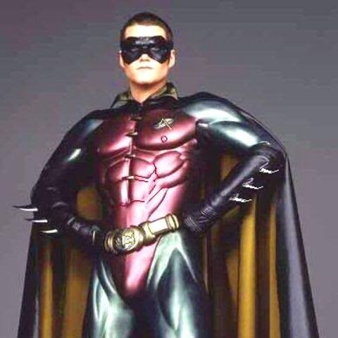 Dick's first Robin suit.