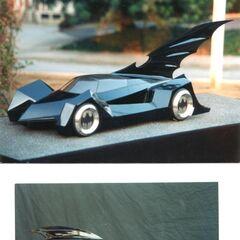 Models for the Batmobile in <i>Batman Forever</i>.