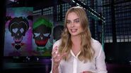 Suicide Squad Margot Robbie Interview on Harley Quinn Bonus Feature Warner Bros