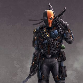 Deathstroke Season 2 Concept Art.