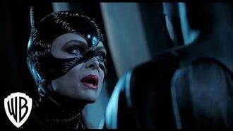Batman Returns Catwoman Fights Batman Scene Warner Bros. Entertainment