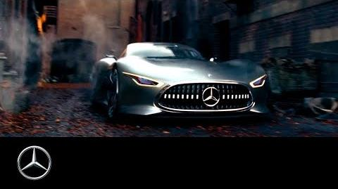 Justice League Making-of – with the E-Class Cabriolet & Vision Gran Turismo