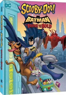 Scooby Doo and Batman The Brave and The Bold DVD