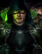Charlie hunnam green arrow by spider maguire-dalwjku