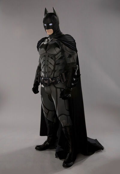 Batman reboot costume