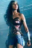 Wonder Woman staring JL promotional image