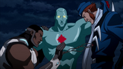 Justice League (old timeline) catch and fight rouges (The Flashpoint Paradox) (16)