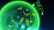 Justice League (The Flashpoint Paradox) catch and fight rouges (15)