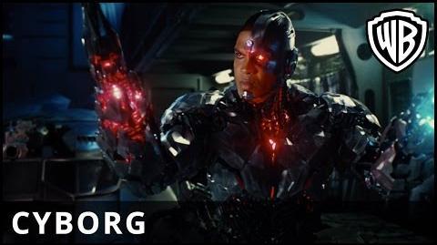 Liga Sprawiedliwości - Liga się zjednoczy Cyborg
