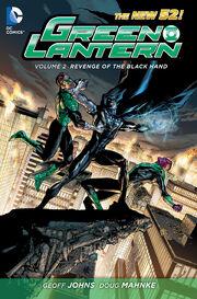 Green Lantern Revenge of the Black Hand