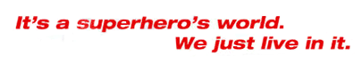 Superhero World Banner