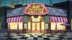Sweet Justice cafe exterior S01E03 Sweet Justice Part 3