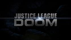 Justice League Doom title card