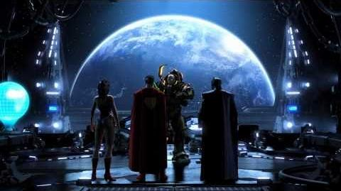 The Stunning DC Universe Intro Cinematic. No seriously, don't be dumb, watch it.