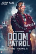 Doom Patrol - Cyborg poster