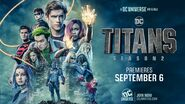 Titans season 2 promotional poster