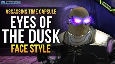 "DCUO ""Eyes of the Dusk"" Face Style Assassins Time Capsule"