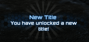 New Title Unlock