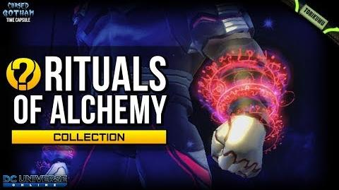 "DCUO ""Rituals of Alchemy"" Collection Reward - 5x Runic Hand Auras Cursed Gotham Time Capsule"