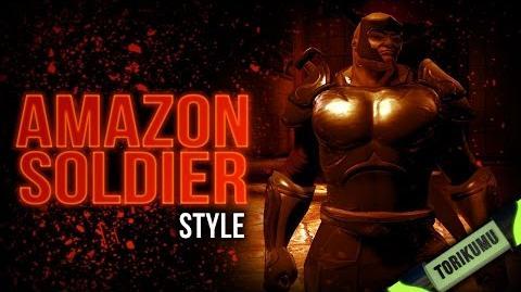 DCUO Amazon Soldier Style Episode 10 Amazon Fury Part 1