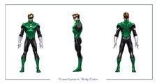 GreenLantern body color