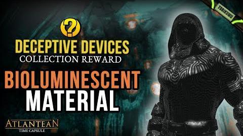 "DCUO Bioluminescent Material - ""Deceptive Devices"" Collection Reward Atlantean Time Capsule"