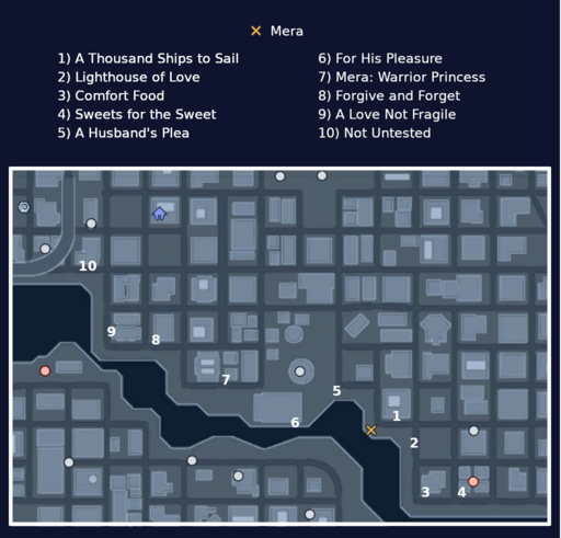 Map - Sea of Love