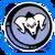 Icon Emblem 002 Blue