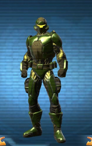 Dcuo military tech