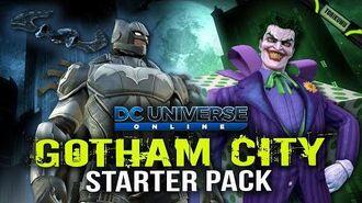 DCUO Gotham City Starter Pack