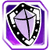 Icon Shield 006 Purple