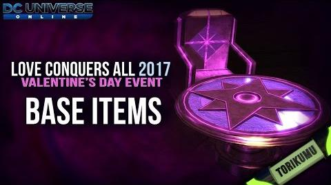 DCUO Valentine's Day Event 2017 Base Items
