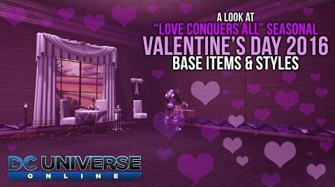 DCUO Valentine's Day Event 2016 Base Items and Styles