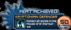 Feat - Kryptonian Defender