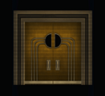 Theater Doors - Closed