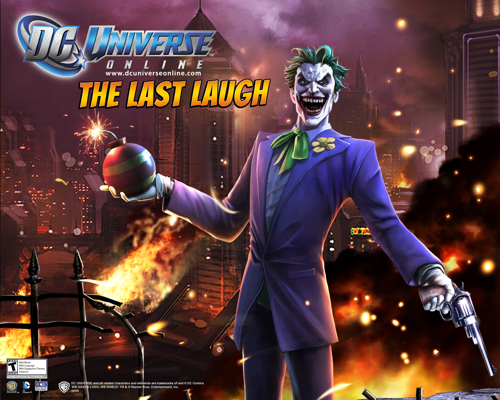 The Last Laugh Dlc Dc Universe Online Wiki Fandom Powered By Wikia