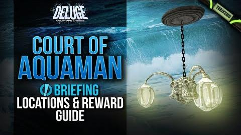 """DCUO """"Court of Aquaman"""" Briefing Locations and Reward Guide Episode 31 Deluge"""
