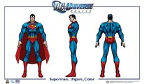 Superman body color