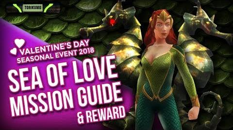 DCUO Sea of Love Mission Guide Valentine's Day Event 2018