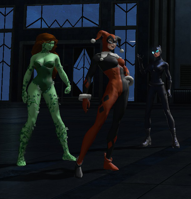 f72ad686eefcdd The Gotham City Sirens is the name used to refer to the alliance of Catwoman